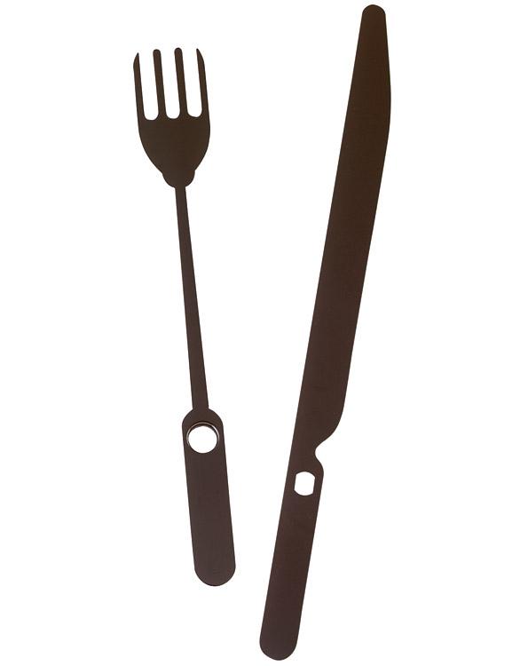 92mm Knife Fork Euroshaft Clock Hands