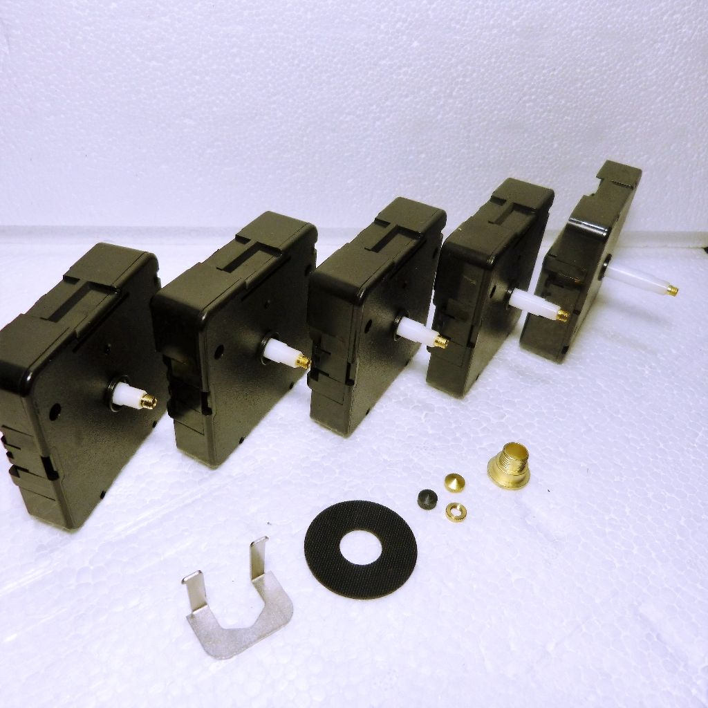 Quartz UTS Euroshaft German clock movement 5 different ...
