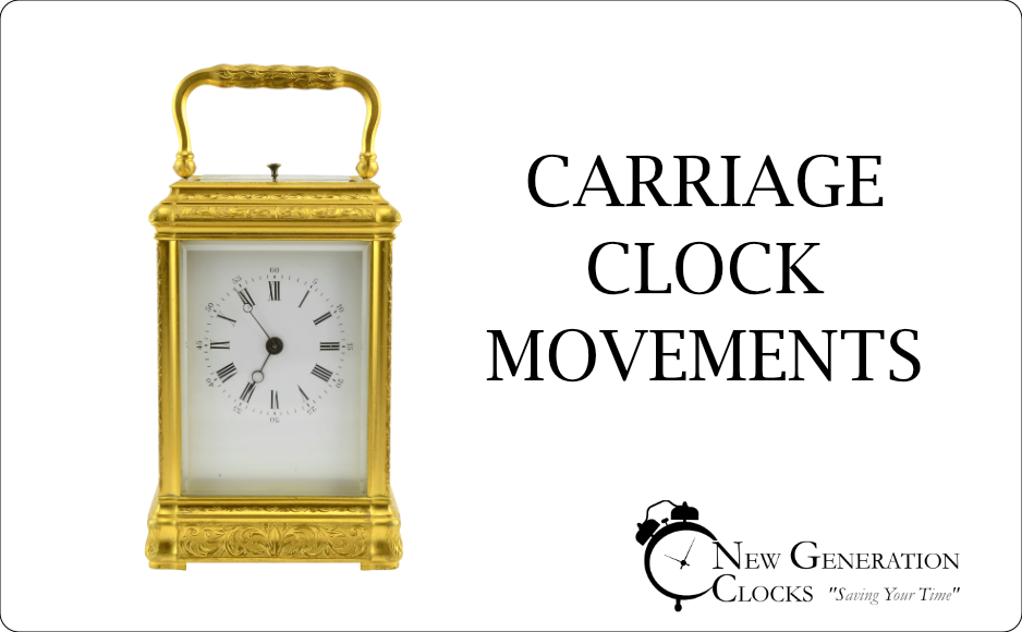 Carriage Clock Movements