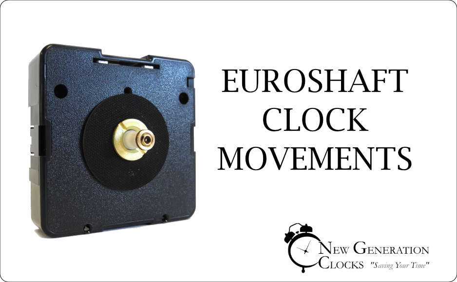 Euroshaft Clock Movements